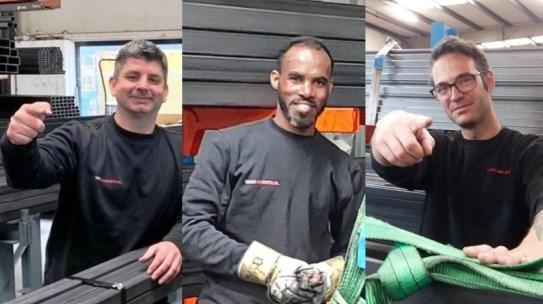 Dennis, Habtom en Remco zoeken logistieke collega's in Duiven, Oss en Tilburg
