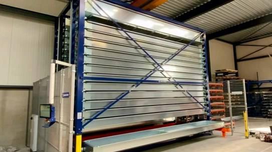 Investering 1e volautomatische voorraadtoren in Asten